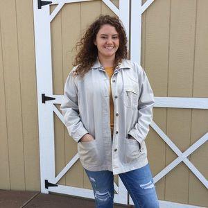Cabin Creek Khaki Jacket size Large